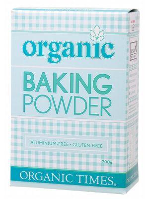 ORGANIC TIMES Baking Powder 200g