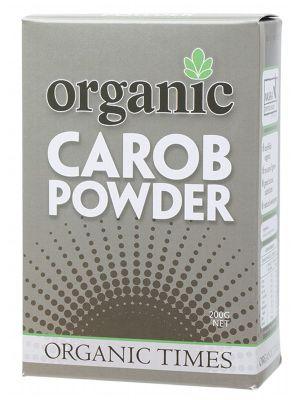 ORGANIC TIMES Carob Powder 200g