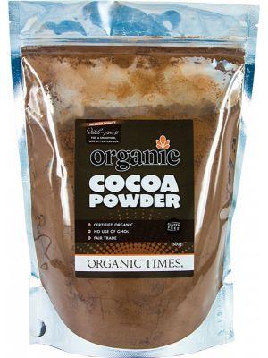 ORGANIC TIMES Cocoa Powder 500g