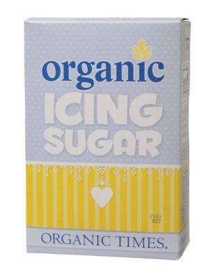 ORGANIC TIMES Icing Sugar 250g