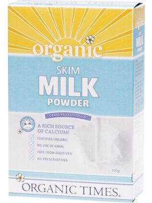ORGANIC TIMES Milk Powder Skim 300g