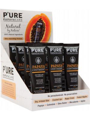 P'URE PAPAYACARE Papaya Ointment - Box 12 Paw Paw With Calendula 12x25g