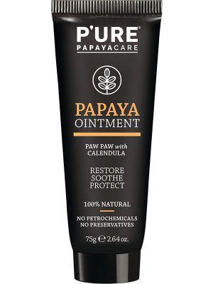 P'URE PAPAYACARE Papaya Ointment Paw Paw With Calendula 75g