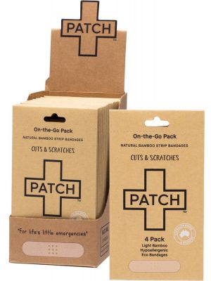 PATCH Adhesive Bamboo Bandages Natural - Cuts & Scratches 50x4