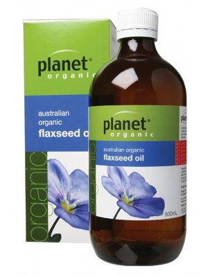 Planet Organic Flax Oil 500ml