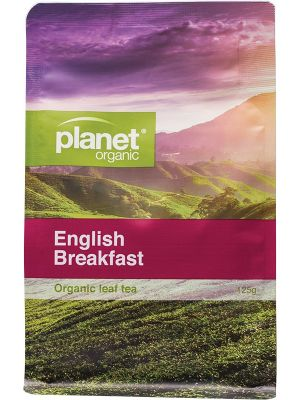 Planet Organic English Breakfast Tea Refill 125g