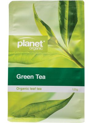 PLANET ORGANIC Green Tea Refill 125g
