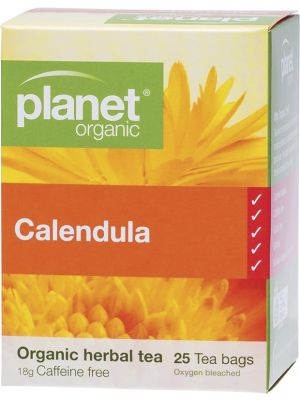 PLANET ORGANIC Herbal Tea Bags Calendula 25