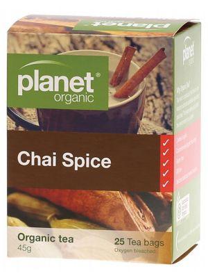 Planet Organic Chai Spice Tea Bags 25 bags