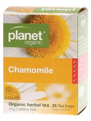 Planet Organic Chamomile Tea Bags 25 bags
