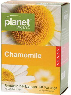 PLANET ORGANIC Chamomile Tea Bags 50 bags