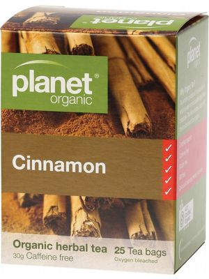 PLANET ORGANIC Cinnamon Tea Bags 25 bags