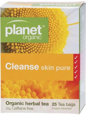 PLANET ORGANIC Herbal Tea Bags Cleanse (Skin Pure) 25