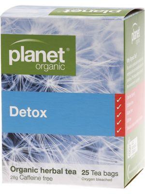 Planet Organic Detox Tea Bags 25 bags
