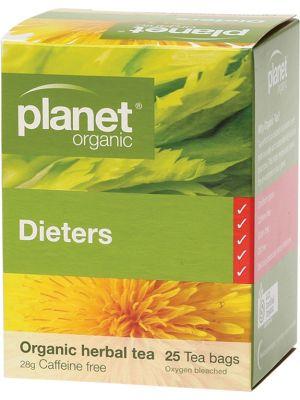 Planet Organic Dieters Tea Bags 25 bags