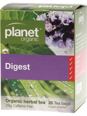 Planet Organic Digest Tea Bags 25 bags