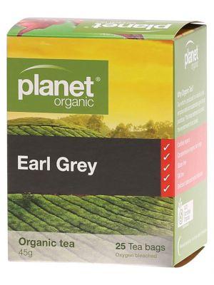Planet Organic Earl Grey Tea Bags 25 bags