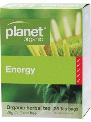 Planet Organic Energy Tea Bags 25 bags
