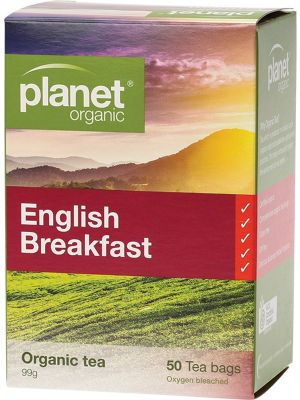Planet Organic English Breakfast Tea Bags 50 bags