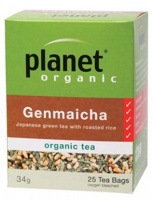 PLANET ORGANIC Genmaicha Tea Bags 25 bags
