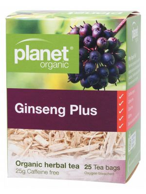 PLANET ORGANIC Ginseng Plus Tea Bags 25 bags