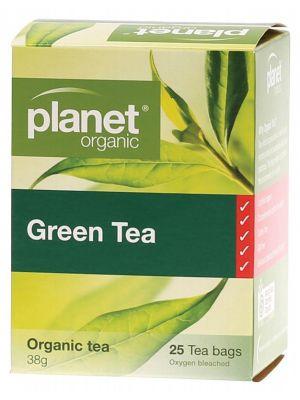 PLANET ORGANIC Green Tea Bags 25 bags
