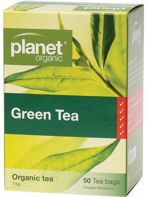 PLANET ORGANIC Green Tea Bags 50 bags
