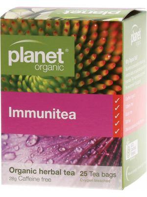 Planet Organic Immunitea Tea Bags 25 bags