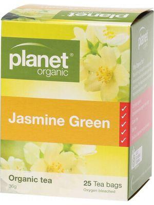 Planet Organic Jasmine Green Tea Bags 25 bags