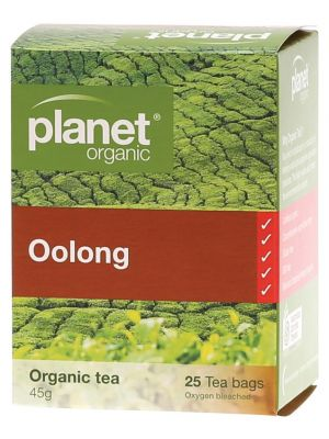Planet Organic Oolong Tea Bags 25 bags