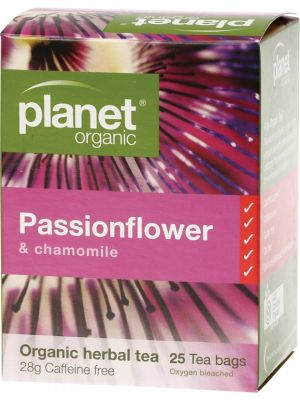 Planet Organic Passionflower Tea Bags 25 bags
