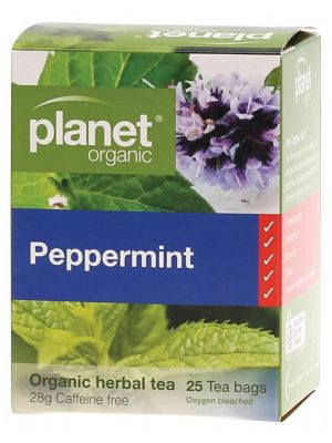 Planet Organic Peppermint Tea Bags 25 bags