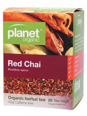 PLANET ORGANIC Red Chai Tea Bags 25 bags