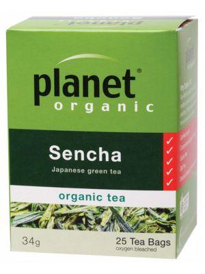 PLANET ORGANIC Sencha Tea Bags 25 bags
