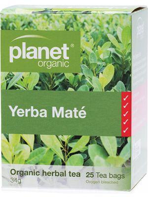 Planet Organic Yerba Maté Tea Bags 25 bags
