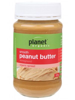 Planet Organic Smooth Peanut Butter 375g