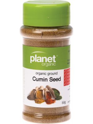 PLANET ORGANIC Cumin Ground 50g
