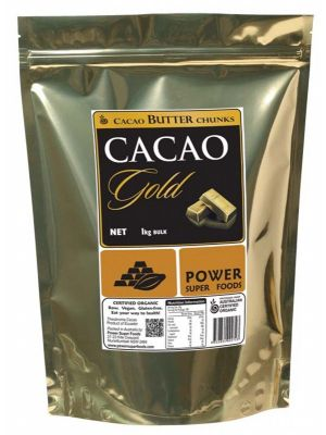 POWER SUPER FOODS Cacao Butter Chunks 1kg