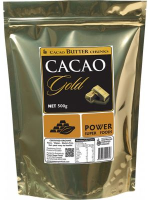POWER SUPER FOODS Cacao Butter Chunks 500g