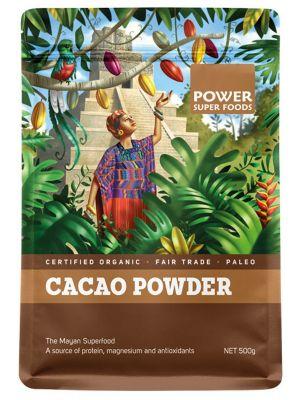 Power Super Foods Cacao Powder 500g
