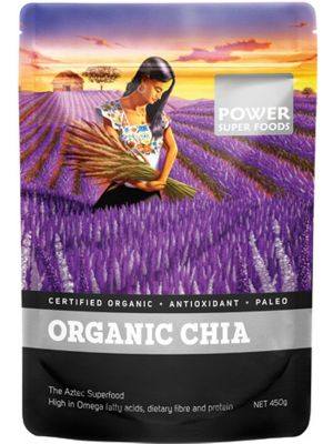 POWER SUPER FOODS Chia Seeds Organic 450g