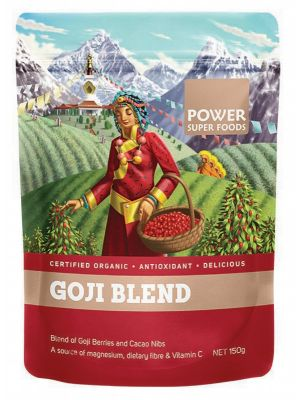 Power Super Foods Goji & Cacao Nibs 150g