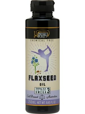 PRESSED PURITY Flaxseed Oil Cold Pressed 250ml