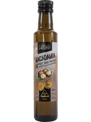 PRESSED PURITY Macadamia Oil Cold Pressed 250ml
