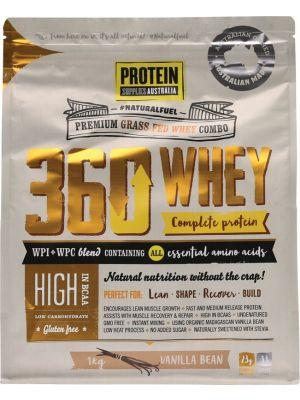 PROTEIN SUPPLIES AUST. 360 Whey Vanilla 1kg
