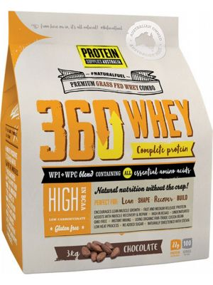 PROTEIN SUPPLIES AUST. 360 Whey Chocolate 3kg
