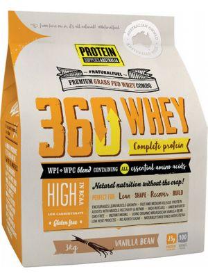 PROTEIN SUPPLIES AUST. 360 Whey Vanilla 3kg