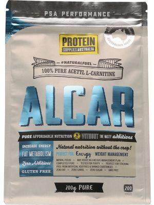 PROTEIN SUPPLIES AUST. Acetyl L-Carnitine (Alcar) 200g