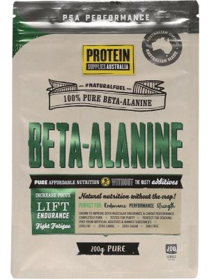 PROTEIN SUPPLIES AUST. Beta Alanine 200g