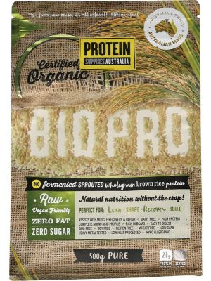 PROTEIN SUPPLIES AUST. BioPro (Sprouted Brown Rice) Pure 500g